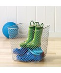 Net Storage Basket - Silver