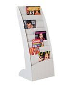 Curved Literature Display