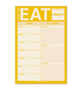 What to Eat Magnetic Notepad Image