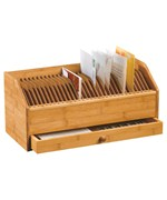 Bamboo 31 Day Bill Organizer