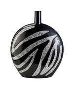 18 Inch H Zebra Decorative Vase by O.R.E.