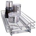 Chrome Roll-Out Cabinet Organizer - 11 Inch