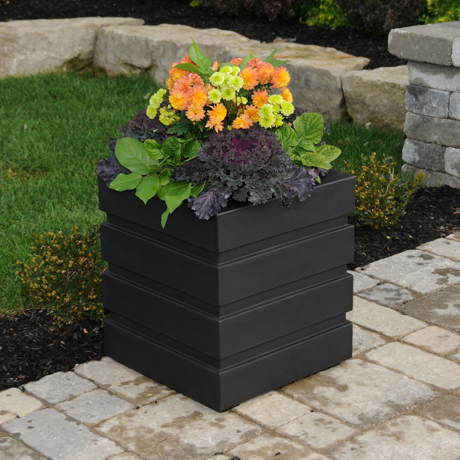 18x18 Freeport Patio Planter By Mayne In Garden Planter Boxes