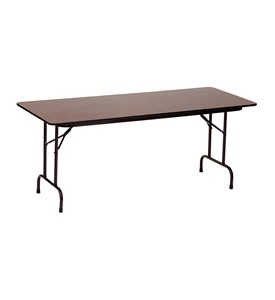 18x60 Melamine Top Folding Table by Correll Image