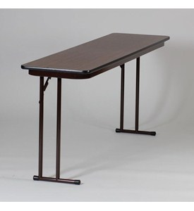 18x60 Offset Leg Seminar Table by Correll Image