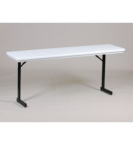 18x72 T-Leg Folding Seminar Table by Correll Image