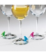 Perch Suction Wine Charms