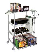 Game Keeper 4 Tier Wire Gaming Tower