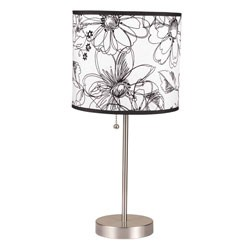 19 Inch H Steel Table Lamp by O.R.E. Image