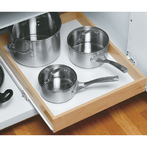 Wood Roll Out Cabinet Shelf 19 Inch Depth Image