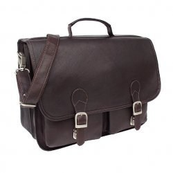 2-Pocket Executive Briefcase - Leather by Piel Leather Image
