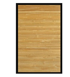 Contemporary Natural Bamboo Area Rug by Anji Mountain Image