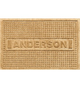 2 x 3 Personalized Doormat - Squares Image