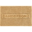 2 x 3 Personalized Doormat - Squares