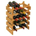Wood Wine Rack - 20 Bottle