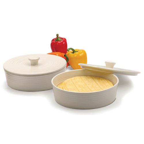 Tortilla Warmer - White