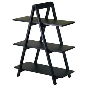 Black A-Frame Shelf Image