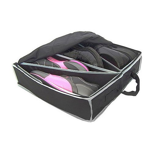 travel shoe case in shoe boxes