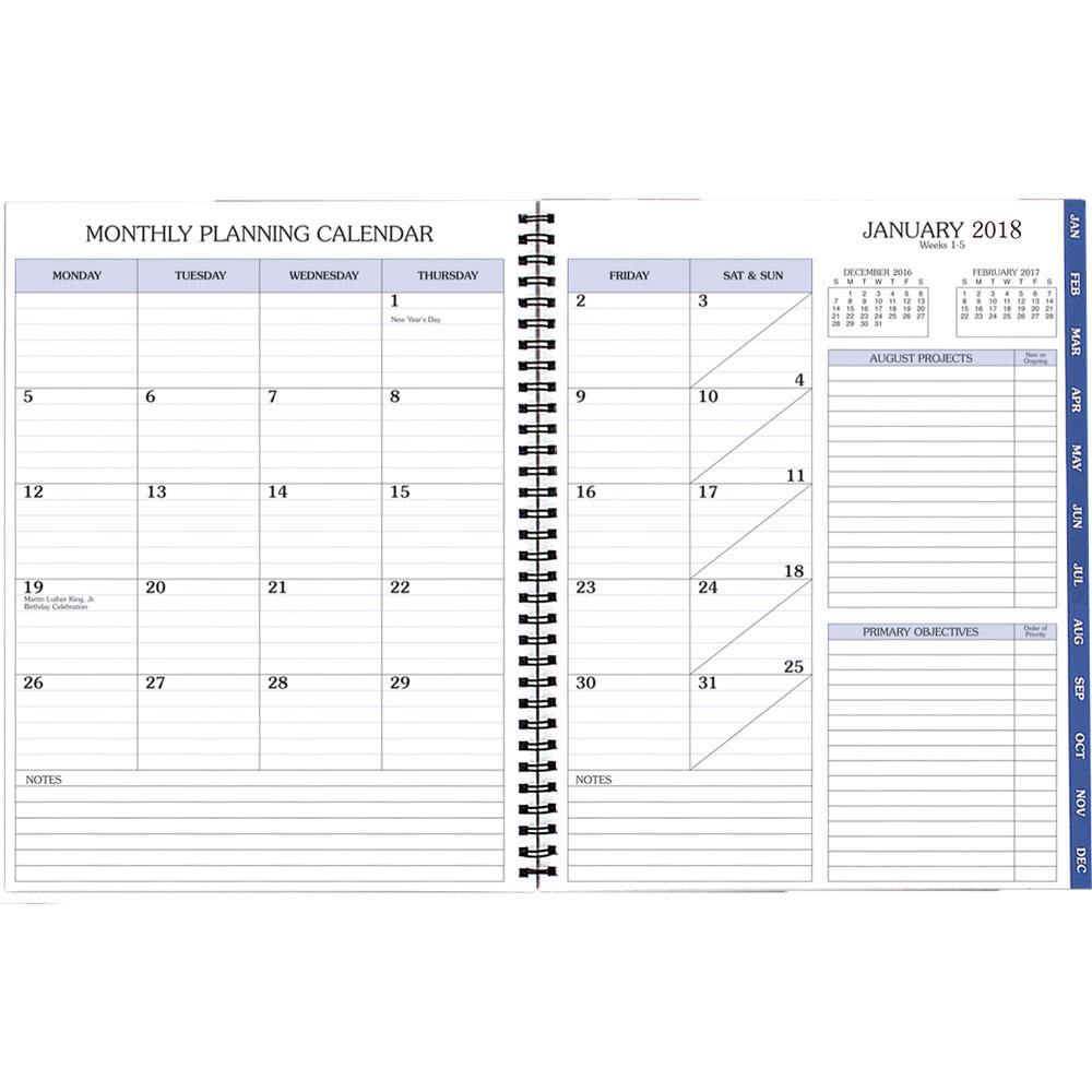 Calendar Refill : Time master refill in calendars and planners