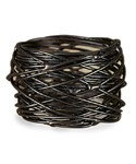 Metal Napkin Rings - Birds Nest