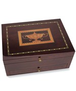 Flatware Storage Chest - Mahogany