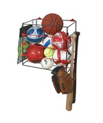 Garage Ball Rack