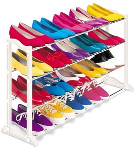 20 Pair Shoe Rack Image