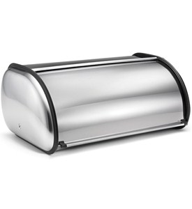 Deluxe Stainless Steel Bread Box Image
