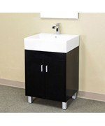 22.8 Inch Contemporary Single Sink Vanity by Bellaterra Home