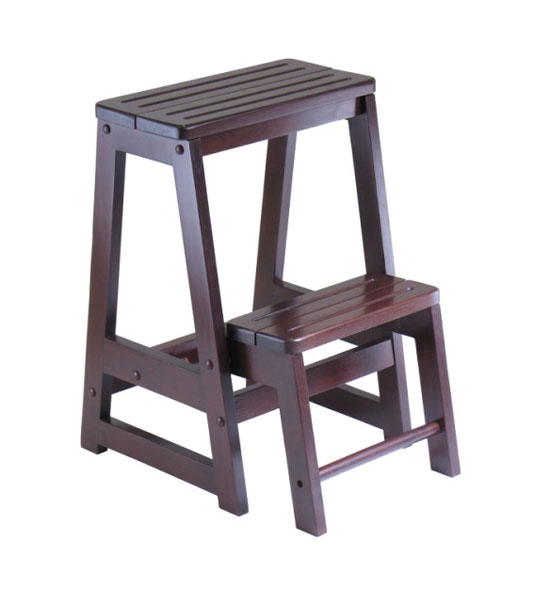 Wooden Folding Step Stool Image  sc 1 st  Organize-It & Wooden Folding Step Stool in Step Stools islam-shia.org