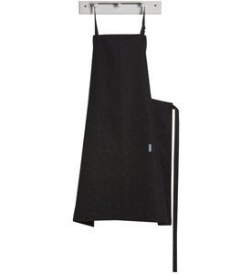 Black Kitchen Apron - Extra Large Image