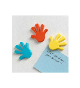 Hand Refrigerator Magnets (Set of 3) Image