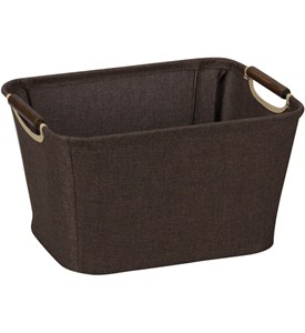 Decorative Storage Basket with Handles Image