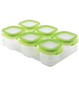 Baby Food Freezer Containers - 2 Ounce Image