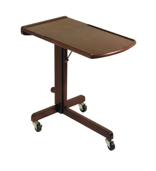 Adjustable Wooden Laptop Tray In Computer And Laptop Carts