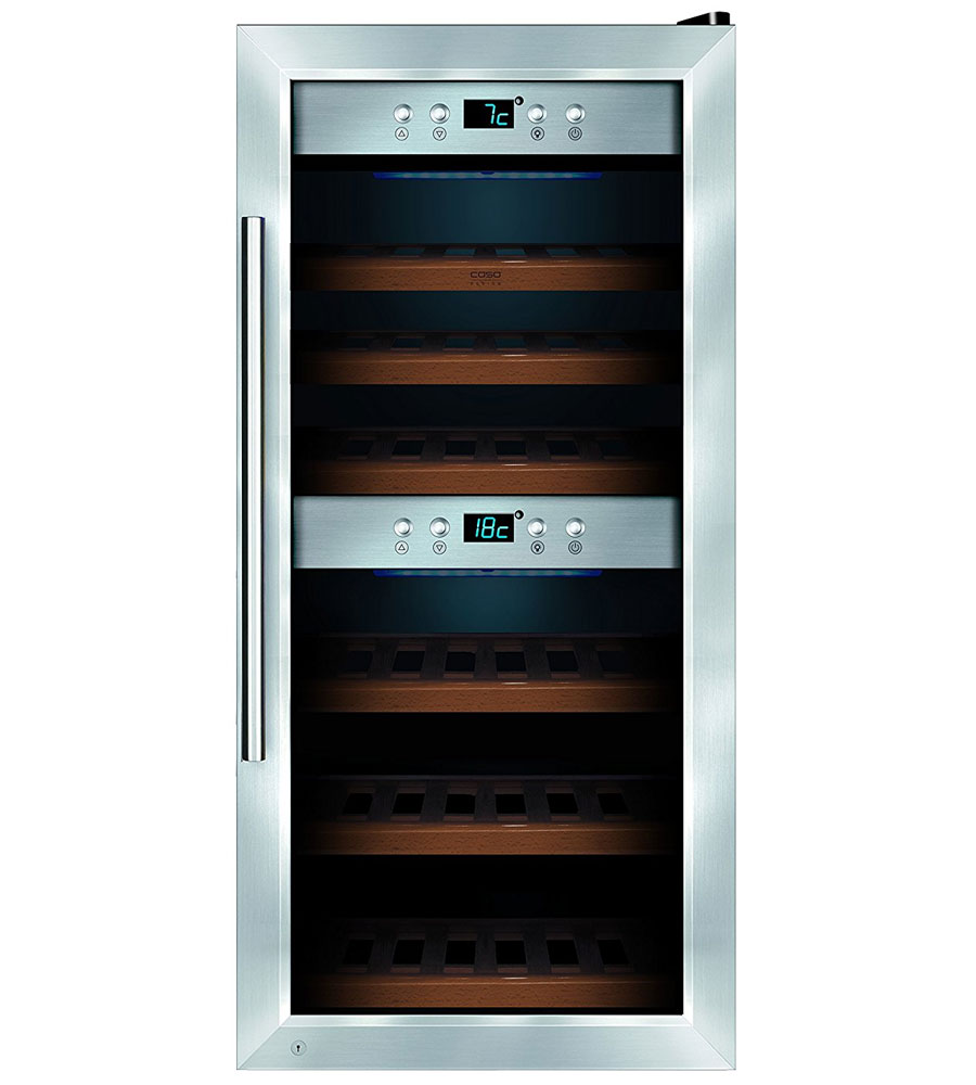 24 Bottle Caso Wine Refrigerator In Wine Coolers