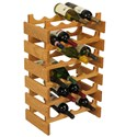 24 Bottle Dakota Wine Rack by Wooden Mallet
