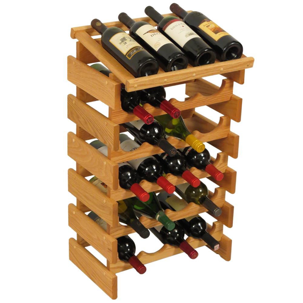 Wine Display Rack 24 Bottle In Wine Racks