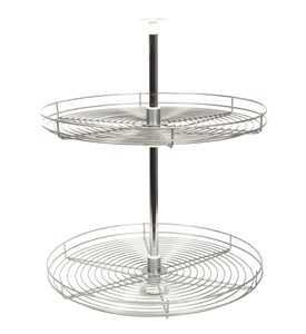 24 Inch Cabinet Lazy Susan - Wire - Full-Round Image