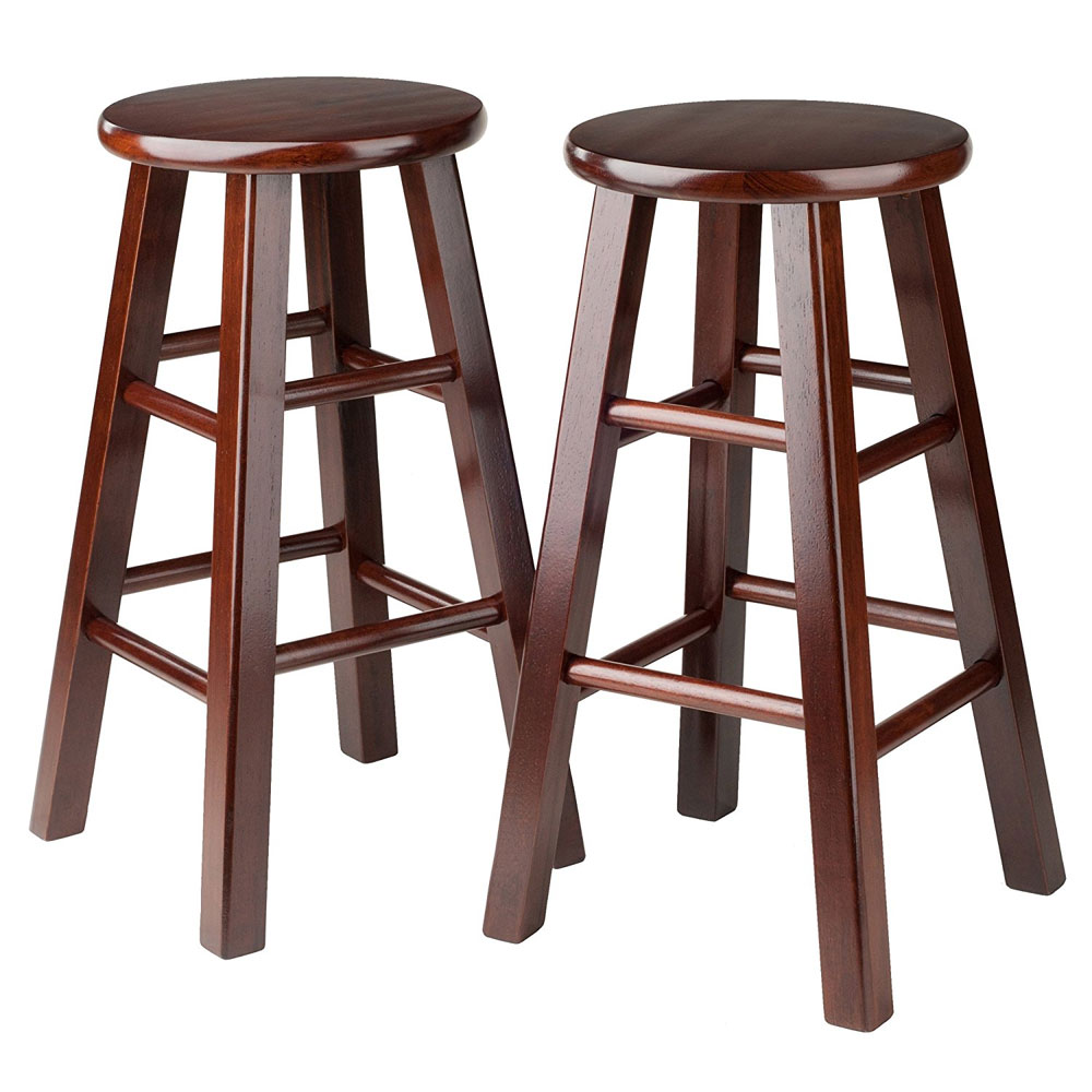 24 inch pacey counter stools set of 2 in wood bar stools for 24 inch bar stools