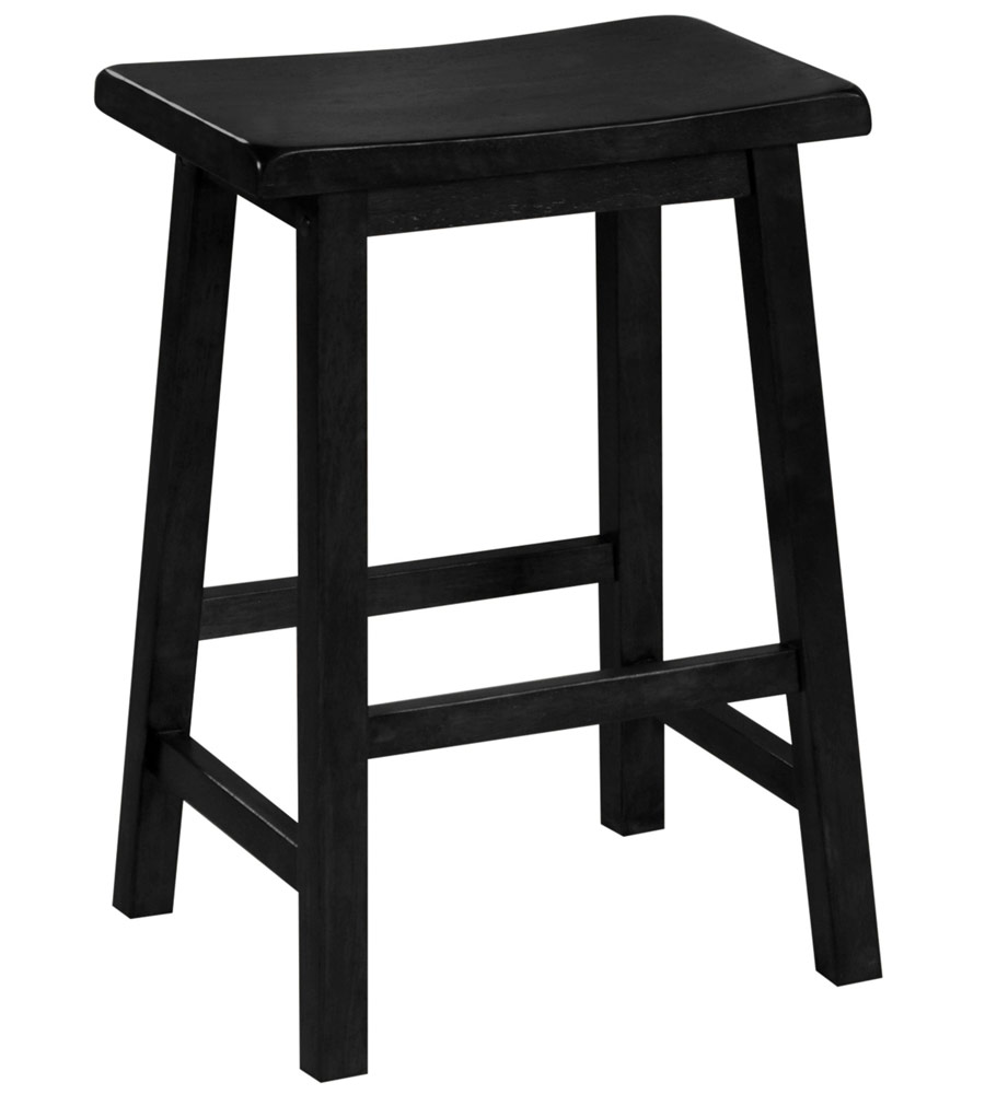 24 Inch Saddle Seat Bar Stool In Saddle Bar Stools