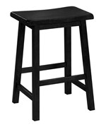 24 Inch Saddle Seat Bar Stool