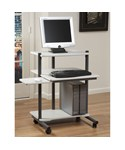 24 Inch Rolling Computer Workstation