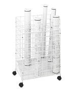 24 Section Blueprint Storage Rack