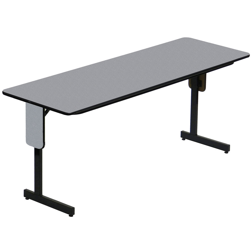 24 x 72 panel leg seminar table in folding tables. Black Bedroom Furniture Sets. Home Design Ideas
