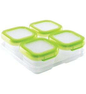 Baby Food Freezer Containers - 4 Ounce Image