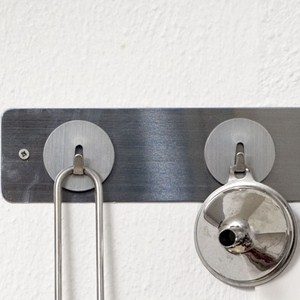 Mini Magnetic Storage Hooks - Stainless Steel (Set of 4) Image
