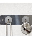 Mini Magnetic Storage Hooks - Stainless Steel