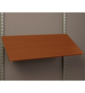 Pre-Drilled Shoe Shelf - Modern Cherry Image
