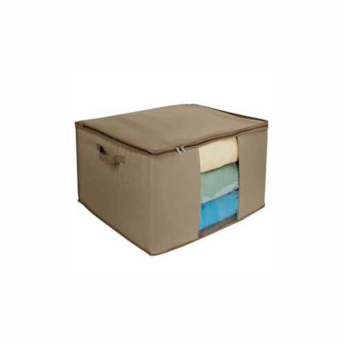 Extra Large Canvas Storage Box Cedar In Clothing Storage